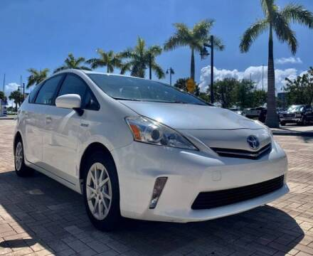 2012 Toyota Prius v for sale at AUTOSPORT MOTORS in Lake Park FL