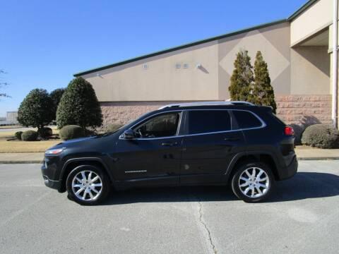 2014 Jeep Cherokee for sale at JON DELLINGER AUTOMOTIVE in Springdale AR