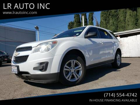 2012 Chevrolet Equinox for sale at LR AUTO INC in Santa Ana CA