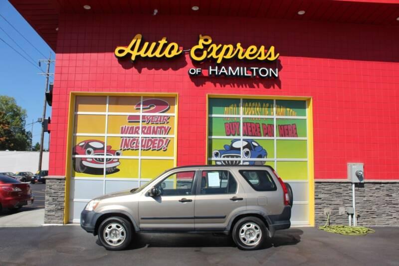 2005 Honda CR-V for sale at AUTO EXPRESS OF HAMILTON LLC in Hamilton OH