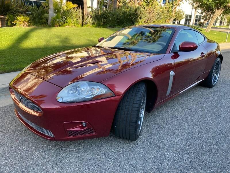 2007 Jaguar XK-Series for sale at Donada  Group Inc in Arleta CA