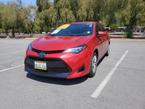2018 Toyota Corolla for sale at ALL CREDIT AUTO SALES in San Jose CA