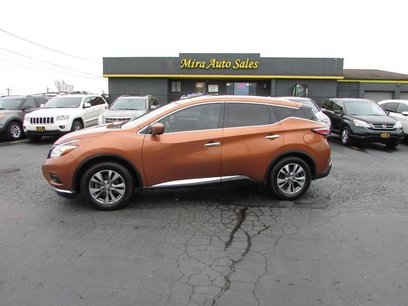 2016 Nissan Murano for sale at MIRA AUTO SALES in Cincinnati OH