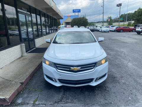 2014 Chevrolet Impala for sale at J Franklin Auto Sales in Macon GA
