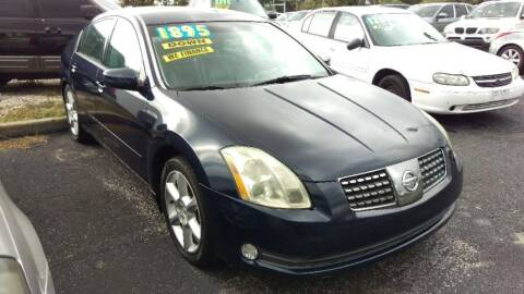 2006 Nissan Maxima for sale at Tony's Auto Sales in Jacksonville FL