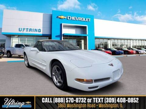 2004 Chevrolet Corvette for sale at Gary Uftring's Used Car Outlet in Washington IL