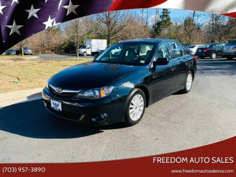 2010 Subaru Impreza for sale at Freedom Auto Sales in Chantilly VA