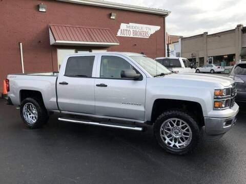 2014 Chevrolet Silverado 1500 for sale at Middle Tennessee Auto Brokers LLC in Gallatin TN