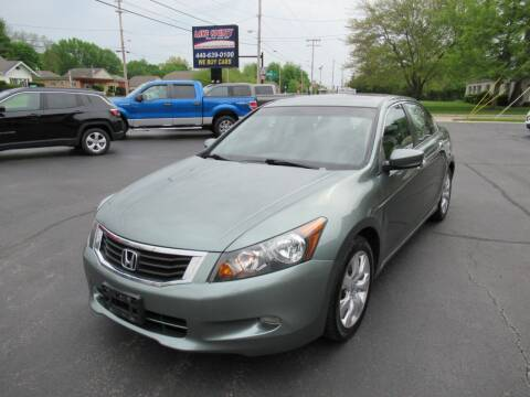 2008 Honda Accord for sale at Lake County Auto Sales in Painesville OH