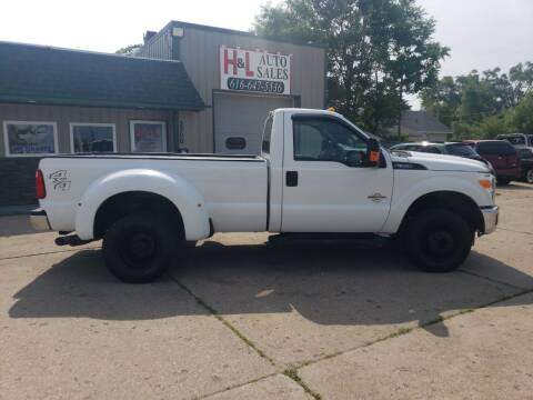 2011 Ford F-350 Super Duty for sale at H & L AUTO SALES LLC in Wyoming MI