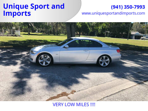 2008 BMW 3 Series for sale at Unique Sport and Imports in Sarasota FL