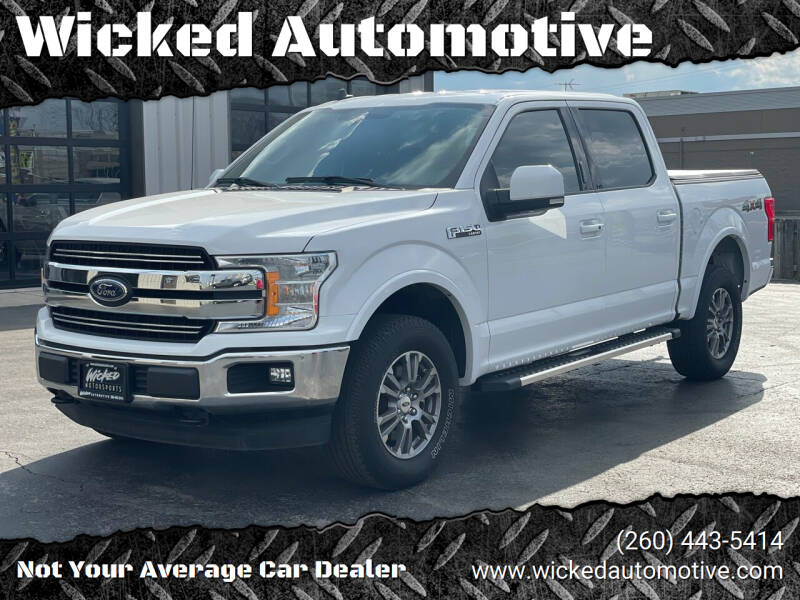 2020 Ford F-150 for sale at Wicked Automotive in Fort Wayne IN