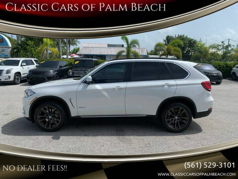 2014 BMW X5 for sale at Classic Cars of Palm Beach in Jupiter FL