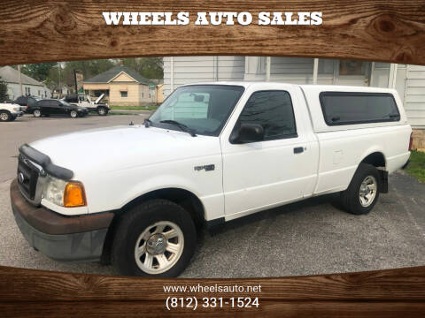 2005 Ford Ranger for sale at Wheels Auto Sales in Bloomington IN
