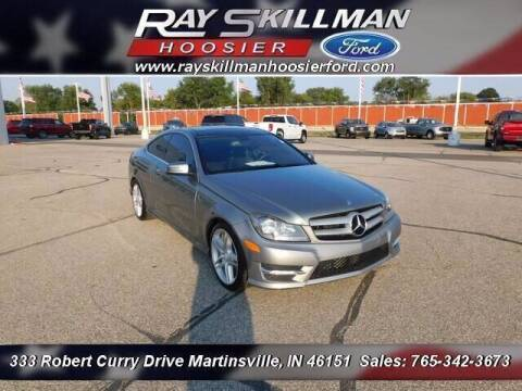 2013 Mercedes-Benz C-Class for sale at Ray Skillman Hoosier Ford in Martinsville IN