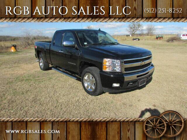 2011 Chevrolet Silverado 1500 for sale at RGB AUTO SALES LLC in Manor TX