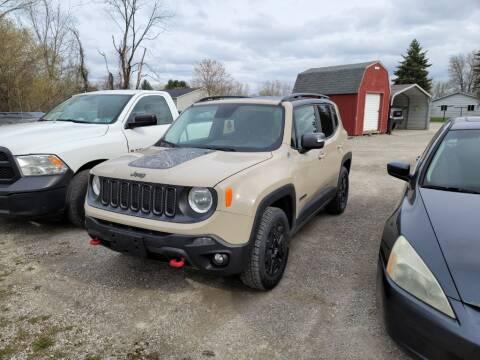 2017 Jeep Renegade for sale at Clare Auto Sales, Inc. in Clare MI