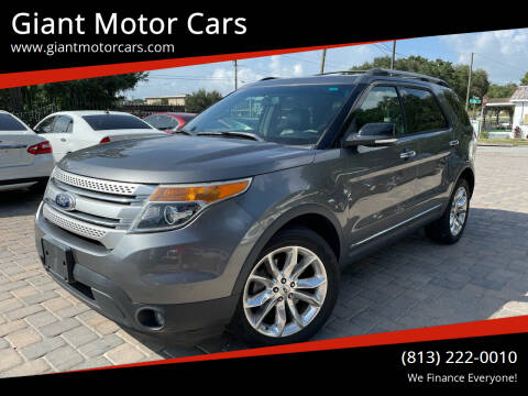 2014 Ford Explorer for sale at Giant Motor Cars in Tampa FL