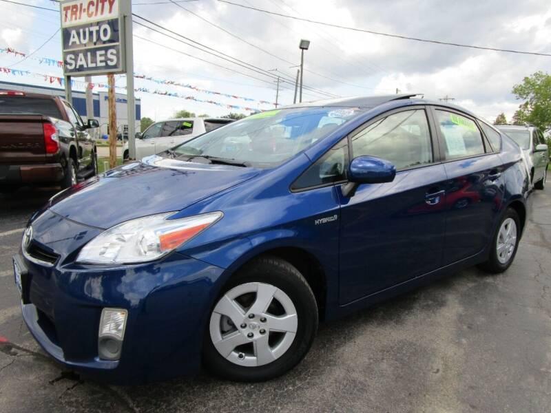 2010 Toyota Prius for sale at TRI CITY AUTO SALES LLC in Menasha WI