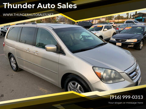 2006 Honda Odyssey for sale at Thunder Auto Sales in Sacramento CA