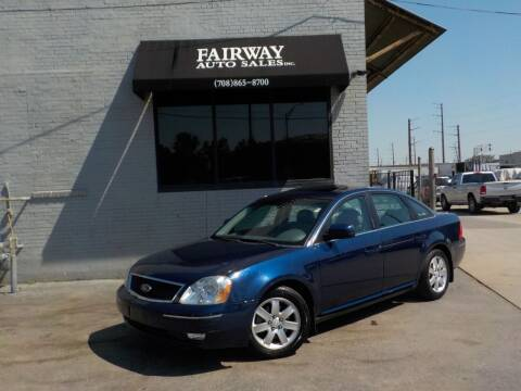 2006 Ford Five Hundred for sale at FAIRWAY AUTO SALES, INC. in Melrose Park IL