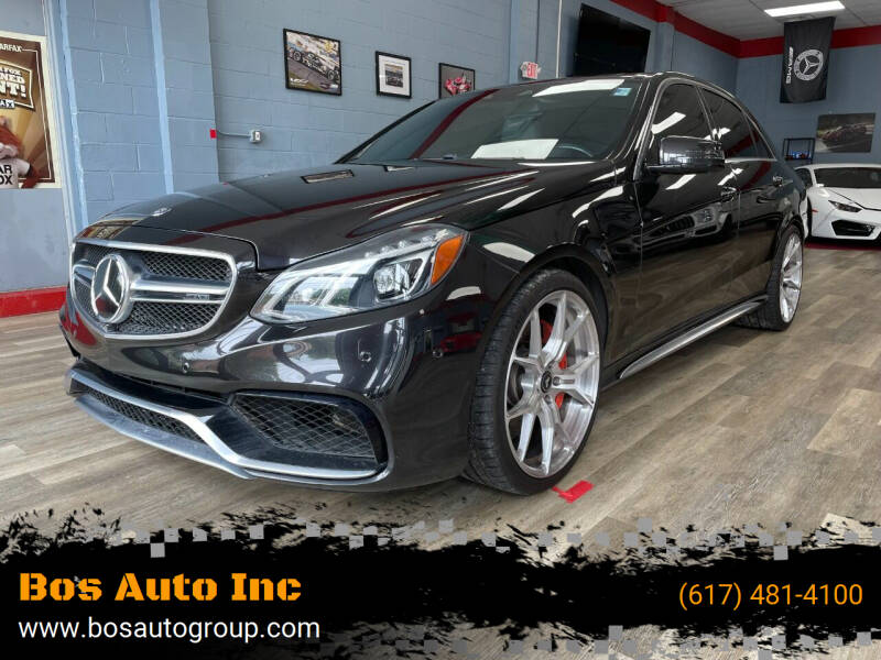 2015 Mercedes-Benz E-Class for sale at Bos Auto Inc in Quincy MA