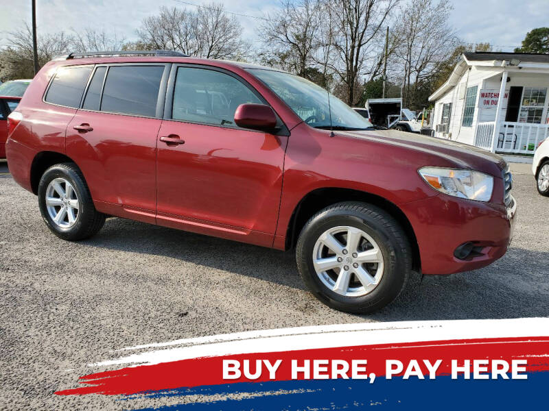 2008 Toyota Highlander for sale at Rodgers Enterprises in North Charleston SC
