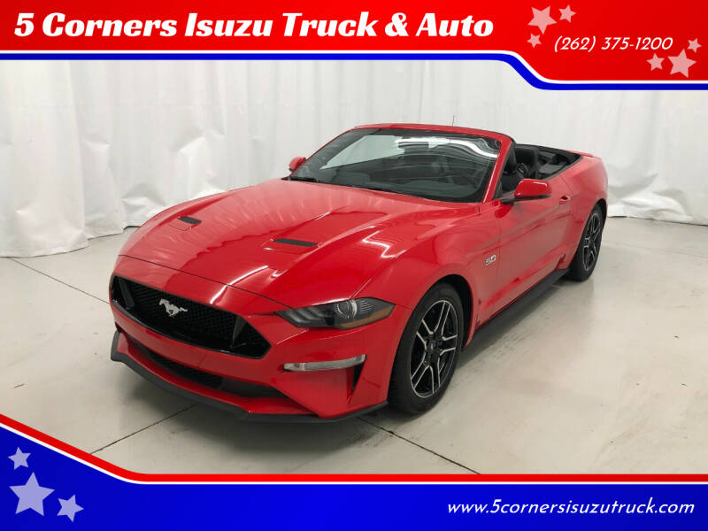 2020 Ford Mustang for sale at 5 Corners Isuzu Truck & Auto in Cedarburg WI