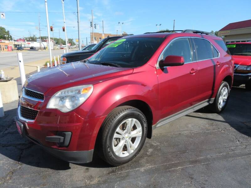 2011 Chevrolet Equinox for sale at Bells Auto Sales in Hammond IN