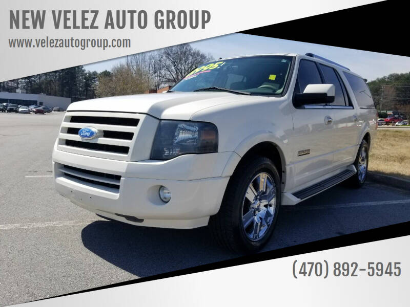2007 Ford Expedition EL for sale at NEW VELEZ AUTO GROUP in Gainesville GA