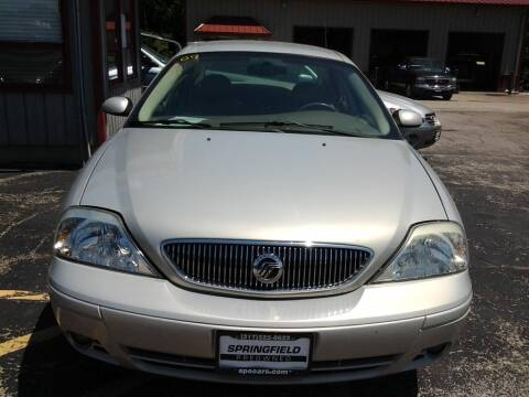 2004 Mercury Sable for sale at SPRINGFIELD PRE-OWNED in Springfield IL