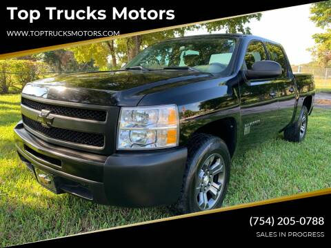2011 Chevrolet Silverado 1500 for sale at Top Trucks Motors in Pompano Beach FL