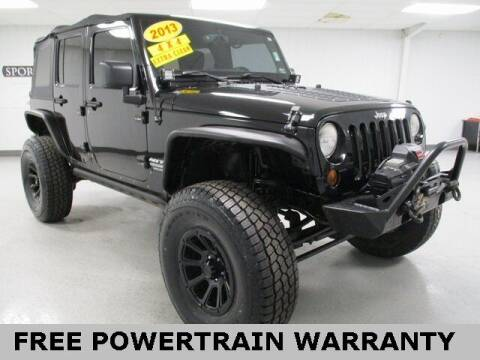 2013 Jeep Wrangler Unlimited for sale at Sports & Luxury Auto in Blue Springs MO