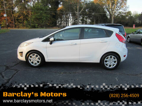 2012 Ford Fiesta for sale at Barclay's Motors in Conover NC