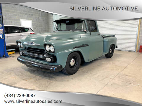 1958 Chevrolet Apache for sale at Silverline Automotive in Lynchburg VA