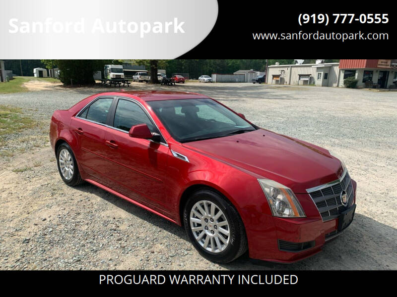2011 Cadillac CTS for sale at Sanford Autopark in Sanford NC