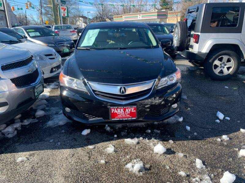 2013 Acura ILX for sale at Park Avenue Auto Lot Inc in Linden NJ
