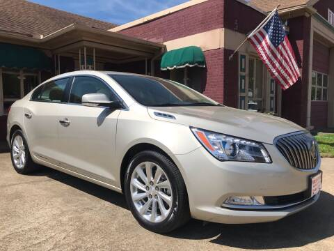 2016 Buick LaCrosse for sale at Firestation Auto Center in Tyler TX