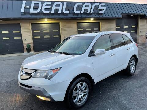 2009 Acura MDX for sale at I-Deal Cars in Harrisburg PA
