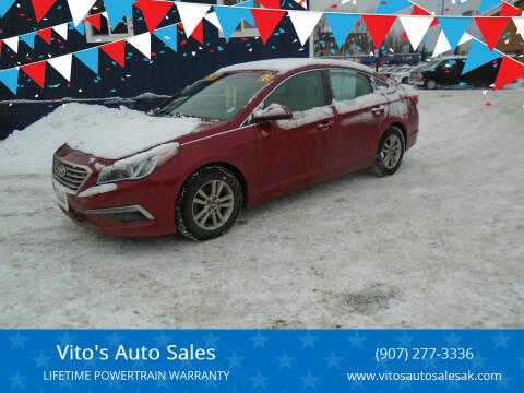 2015 Hyundai Sonata for sale at Vito's Auto Sales in Anchorage AK