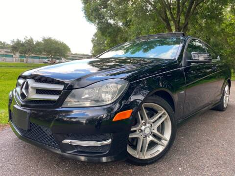 2012 Mercedes-Benz C-Class for sale at Powerhouse Automotive in Tampa FL