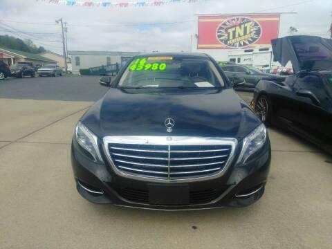 2016 Mercedes-Benz S-Class for sale at AUTOPLEX 528 LLC in Huntsville AL