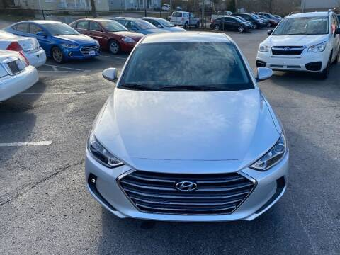 2017 Hyundai Elantra for sale at Mitchell Motor Company in Madison TN