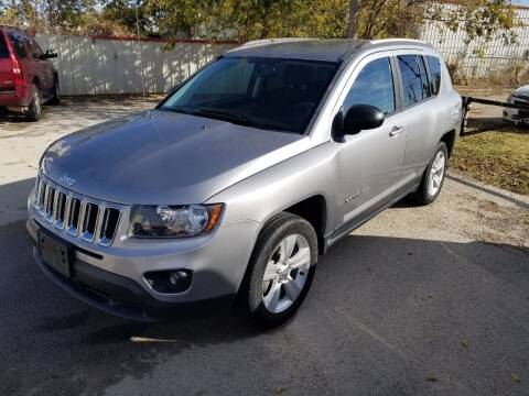 2016 Jeep Compass for sale at Key City Motors in Abilene TX