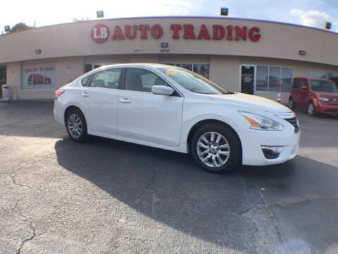 2015 Nissan Altima for sale at LB Auto Trading in Orlando FL