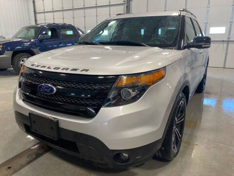 2015 Ford Explorer for sale at RDJ Auto Sales in Kerkhoven MN