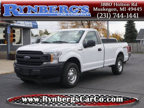 2018 Ford F-150 for sale at Rynbergs Car Co in Muskegon MI