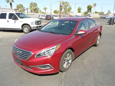 2016 Hyundai Sonata for sale at COUNTRY CLUB CARS in Mesa AZ