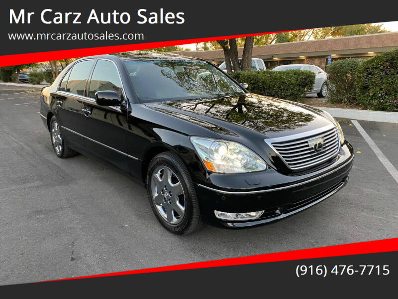 2004 Lexus LS 430 for sale at Mr Carz Auto Sales in Sacramento CA