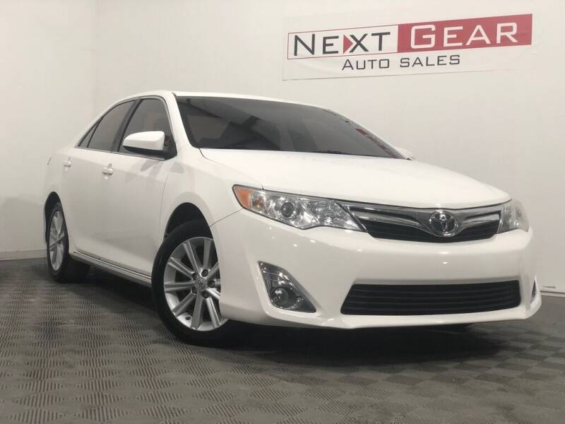2013 Toyota Camry for sale at Next Gear Auto Sales in Westfield IN